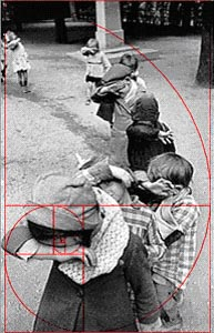 Composition of Cartier-Bresson and the Golden Rectangle