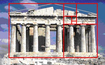 Example of the Golden Ratio in Architecture