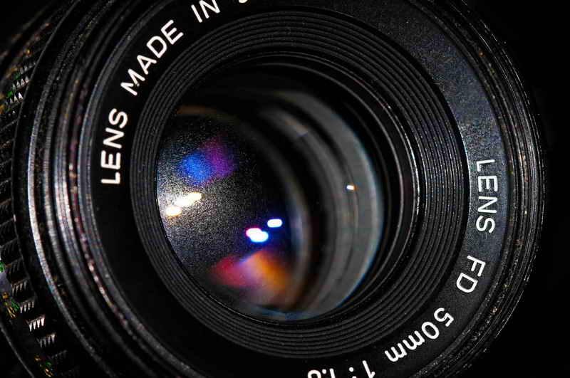 50 mm lens