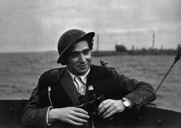 Photographer Robert Capa