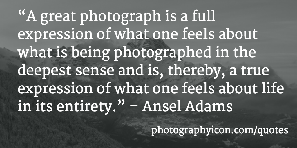 154 Incredible Photography Quotes Icon Photography School